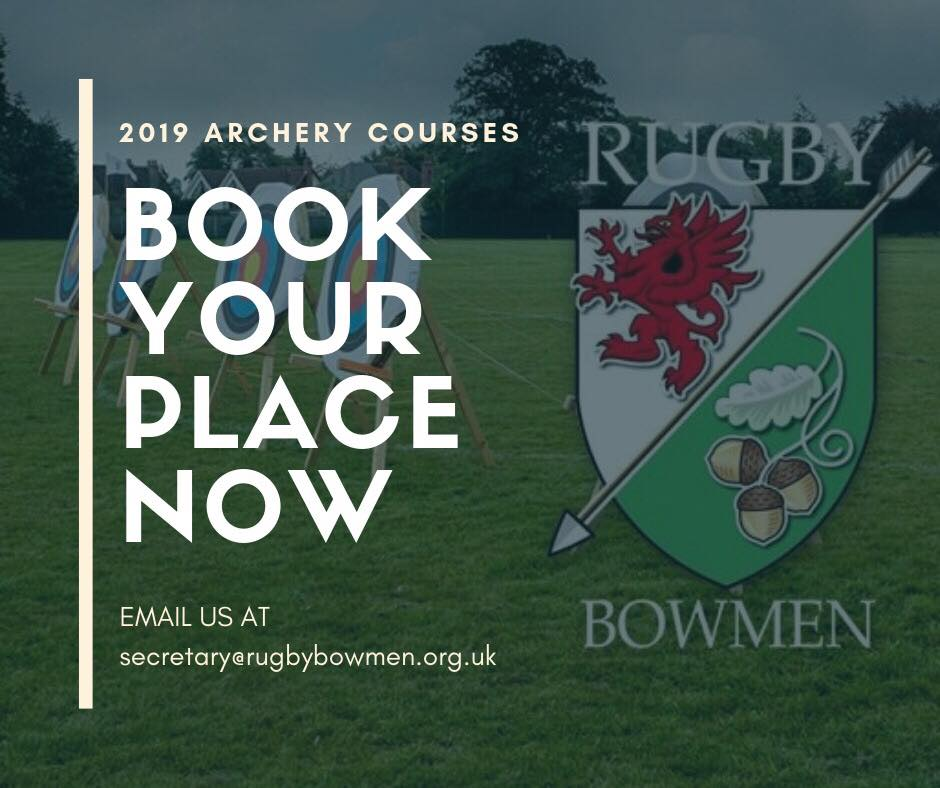 2019 Archery Courses - Book your place now!